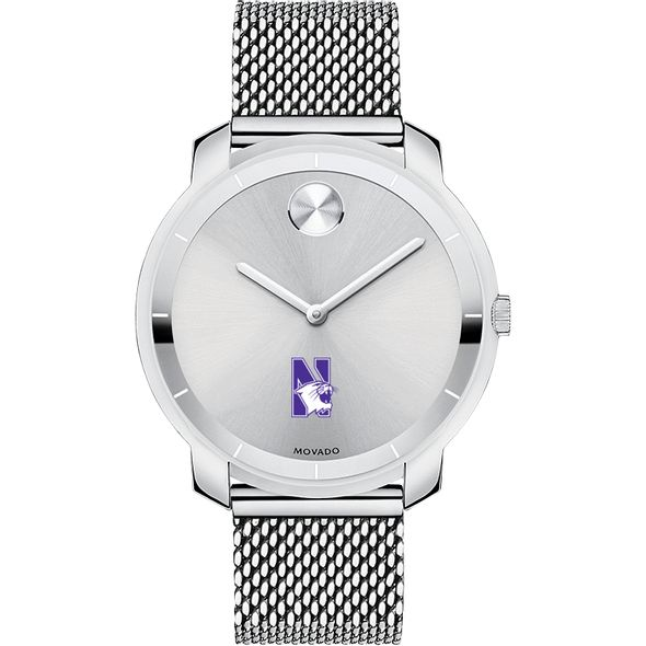 Northwestern Women's Movado Stainless Bold 36 - Image 2
