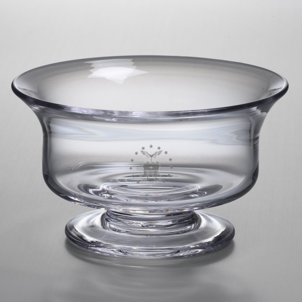 Air Force Academy Medium Glass Revere Bowl by Simon Pearce