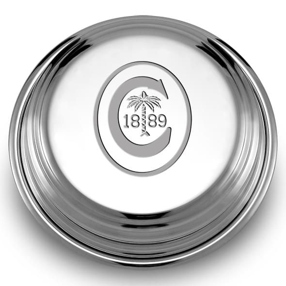 Clemson Pewter Paperweight - Image 2