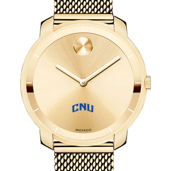 Christopher Newport University Women's Movado Gold Bold 36