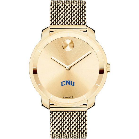 Christopher Newport University Women's Movado Gold Bold 36 - Image 2