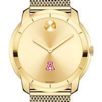 University of Arizona Men's Movado Gold Bold 44