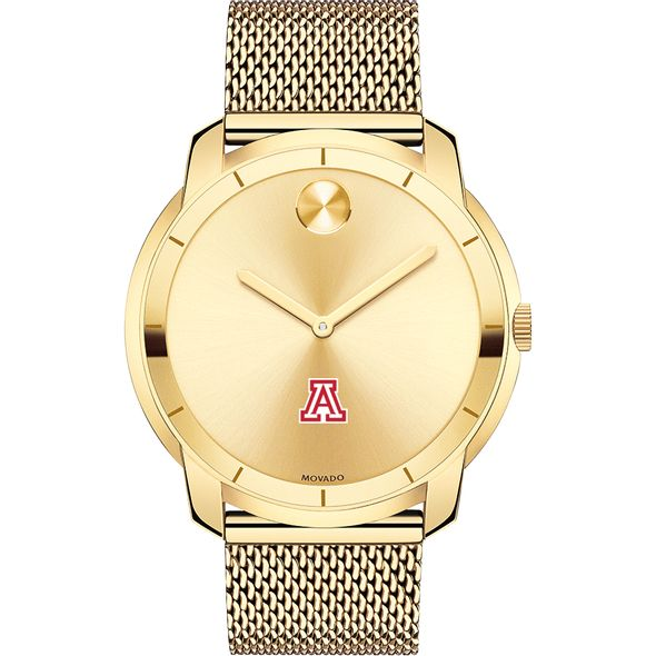 University of Arizona Men's Movado Gold Bold 44 - Image 2