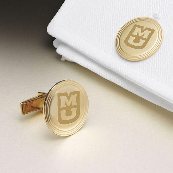 University of Missouri 18K Gold Cufflinks