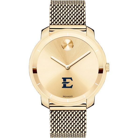 East Tennessee State University Women's Movado Gold Bold 36 - Image 2