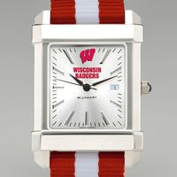 University of Wisconsin Collegiate Watch with NATO Strap for Men