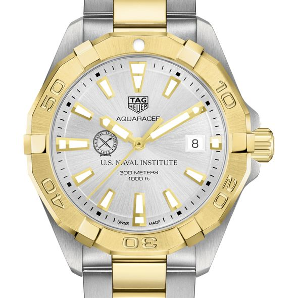 U.S. Naval Institute Men's TAG Heuer Two-Tone Aquaracer
