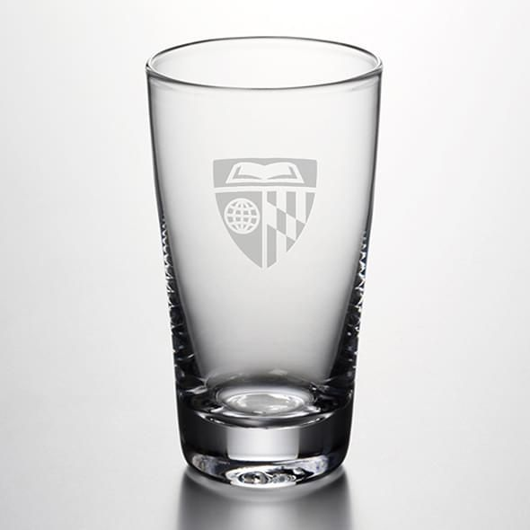 Johns Hopkins Pint Glass by Simon Pearce - Image 1