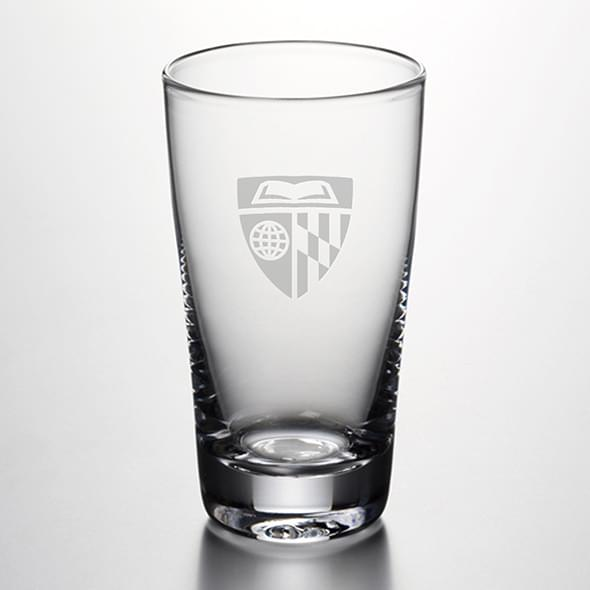 Johns Hopkins Pint Glass by Simon Pearce
