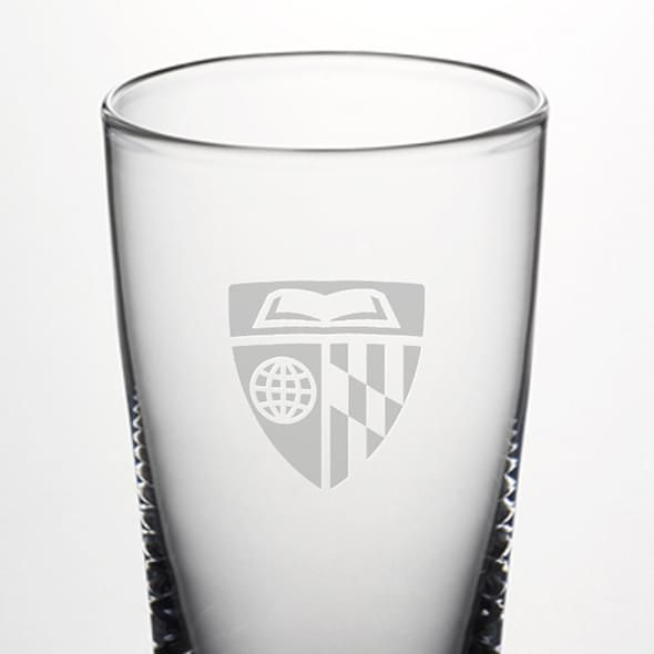 Johns Hopkins Pint Glass by Simon Pearce - Image 2