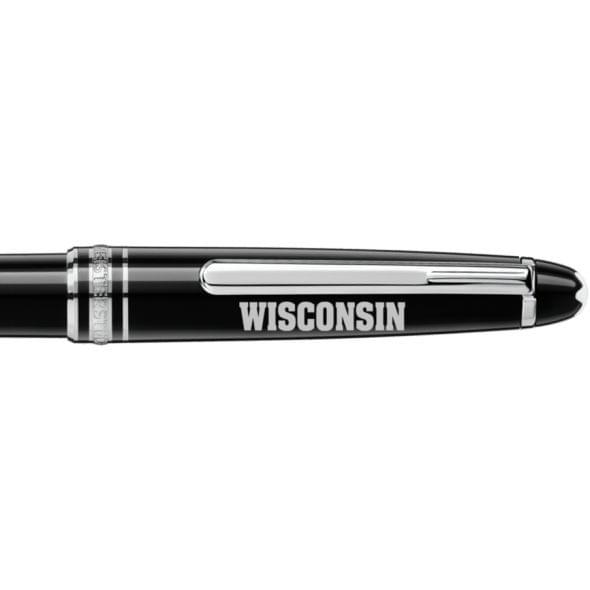 Wisconsin Montblanc Meisterstück Classique Ballpoint Pen in Platinum - Image 2