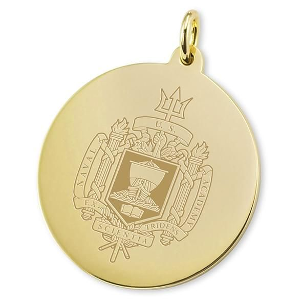 Naval Academy 14K Gold Charm - Image 2