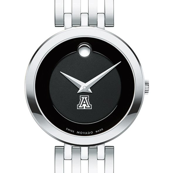 University of Arizona Women's Movado Esparanza Stainless Steel Museum with Bracelet