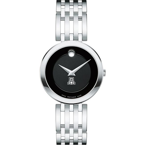 University of Arizona Women's Movado Esparanza Stainless Steel Museum with Bracelet - Image 2