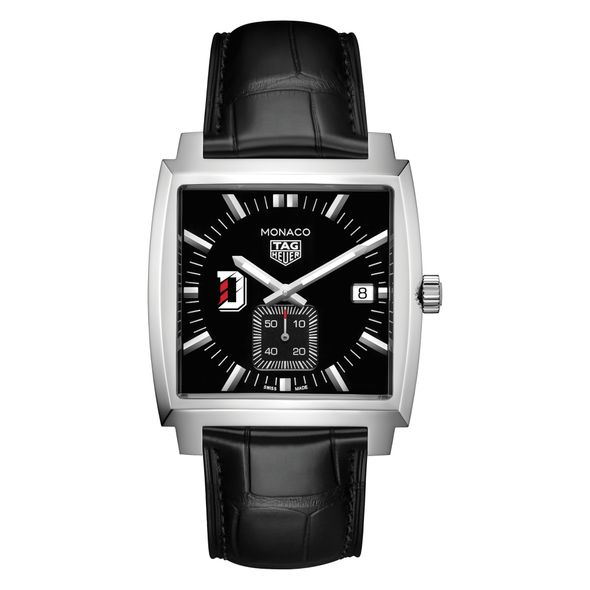 Davidson College TAG Heuer Monaco with Quartz Movement for Men - Image 2