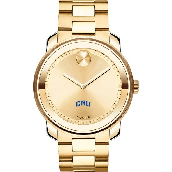 Christopher Newport University Men's Movado Gold Bold - Image 2