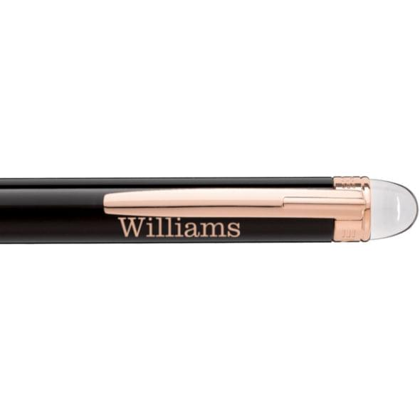 Williams College Montblanc StarWalker Ballpoint Pen in Red Gold - Image 2