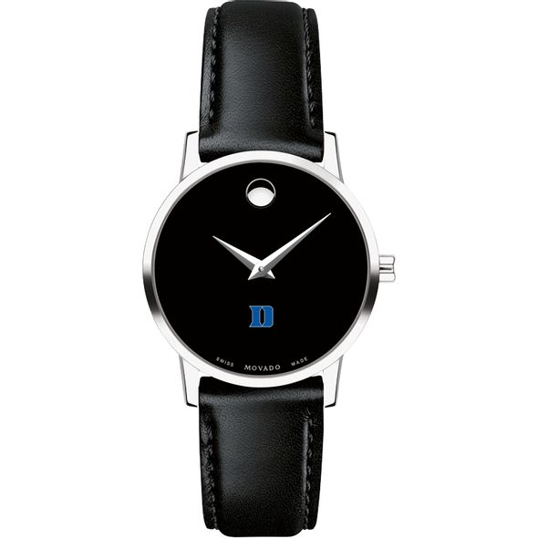 Duke University Women's Movado Museum with Leather Strap - Image 2