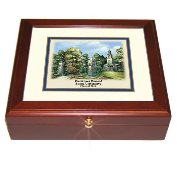 Emory Eglomise Desk Box - Image 2