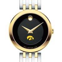 Iowa Women's Movado Esparanza Two-Tone Museum with Bracelet