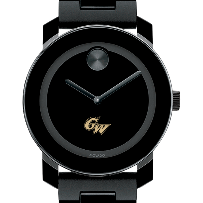 George Washington University Men's Movado BOLD with Bracelet