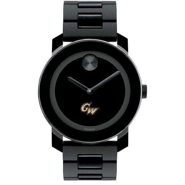 George Washington University Men's Movado BOLD with Bracelet - Image 2