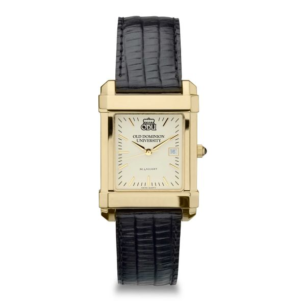 Old Dominion Men's Gold Quad with Leather Strap - Image 2