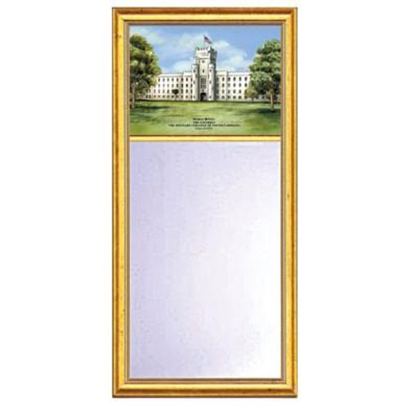 Citadel Eglomise Medium Mirror with Gold Frame - Image 1