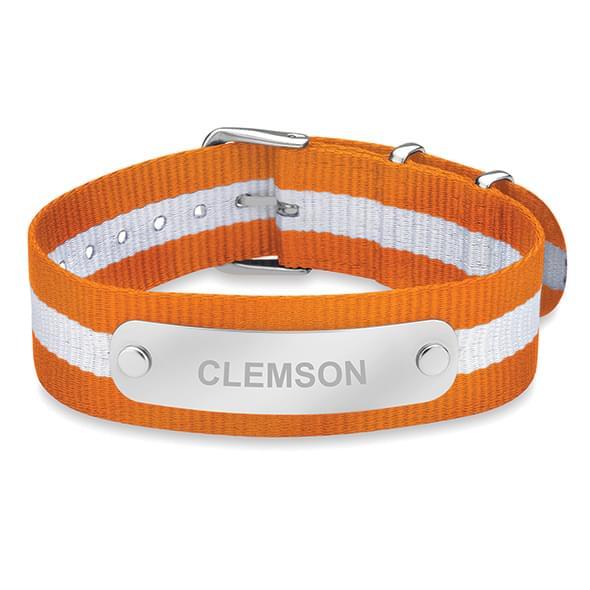 Clemson NATO ID Bracelet
