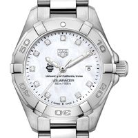 UC Irvine Women's TAG Heuer Steel Aquaracer with MOP Diamond Dial