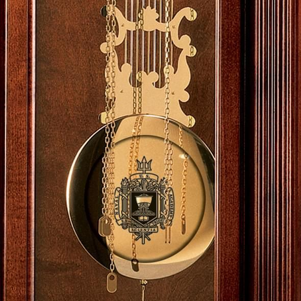 Naval Academy Howard Miller Grandfather Clock - Image 3