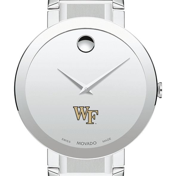 Wake Forest University Men's Movado Sapphire Museum with Bracelet
