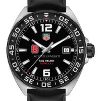 NC State Men's TAG Heuer Formula 1 with Black Dial