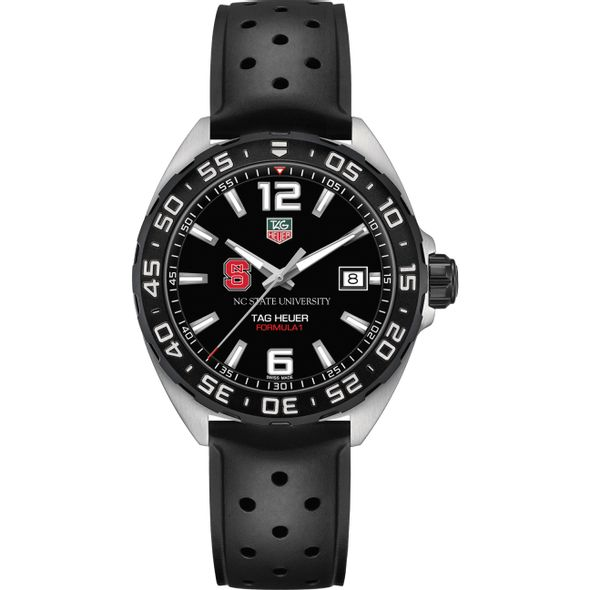 North Carolina State Men's TAG Heuer Formula 1 with Black Dial - Image 2