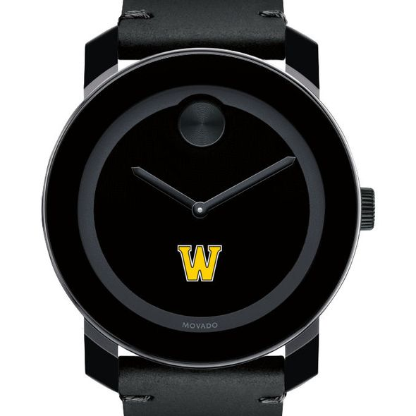 Williams Men's Movado BOLD with Leather Strap