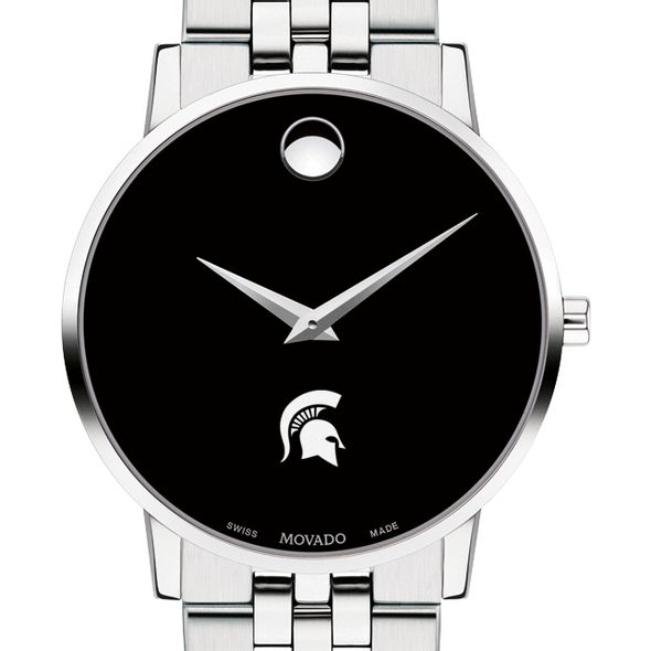 Michigan State University Men's Movado Museum with Bracelet - Image 1
