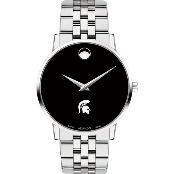 Michigan State University Men's Movado Museum with Bracelet - Image 2