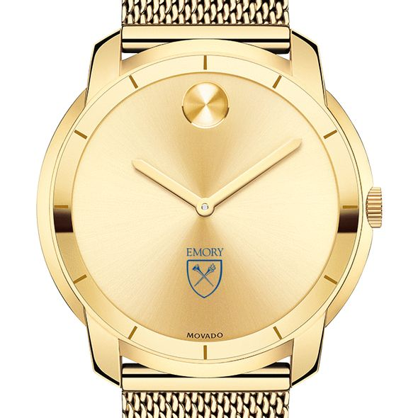 Emory University Men's Movado Gold Bold 44