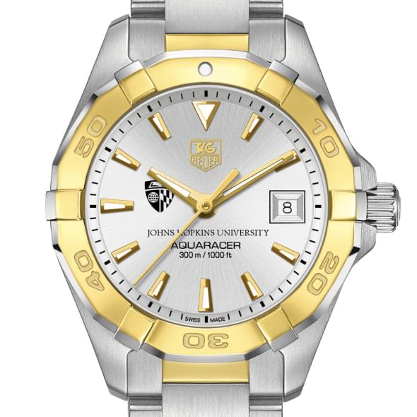 Johns Hopkins Women's TAG Heuer Two-Tone Aquaracer