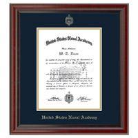 US Naval Academy Diploma Frame, the Fidelitas