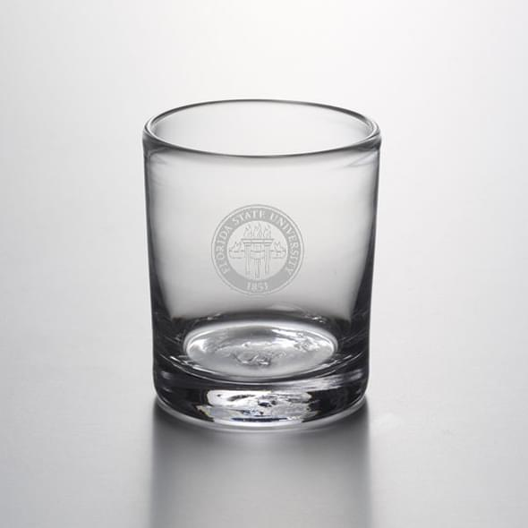 Florida State Double Old Fashioned Glass by Simon Pearce
