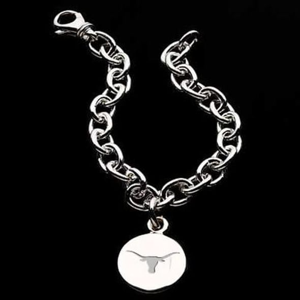 Texas Sterling Silver Charm Bracelet