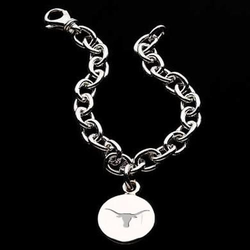 Texas Sterling Silver Charm Bracelet