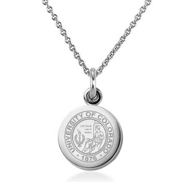 Colorado Necklace with Charm in Sterling Silver - Image 1