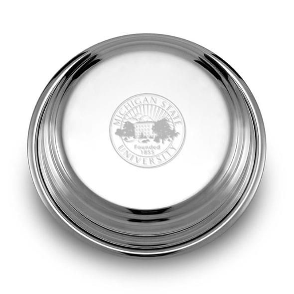 Michigan State Pewter Paperweight