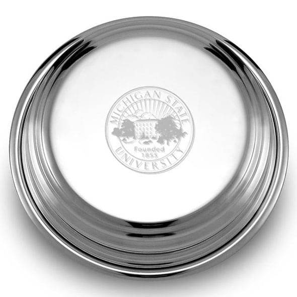 Michigan State Pewter Paperweight - Image 2