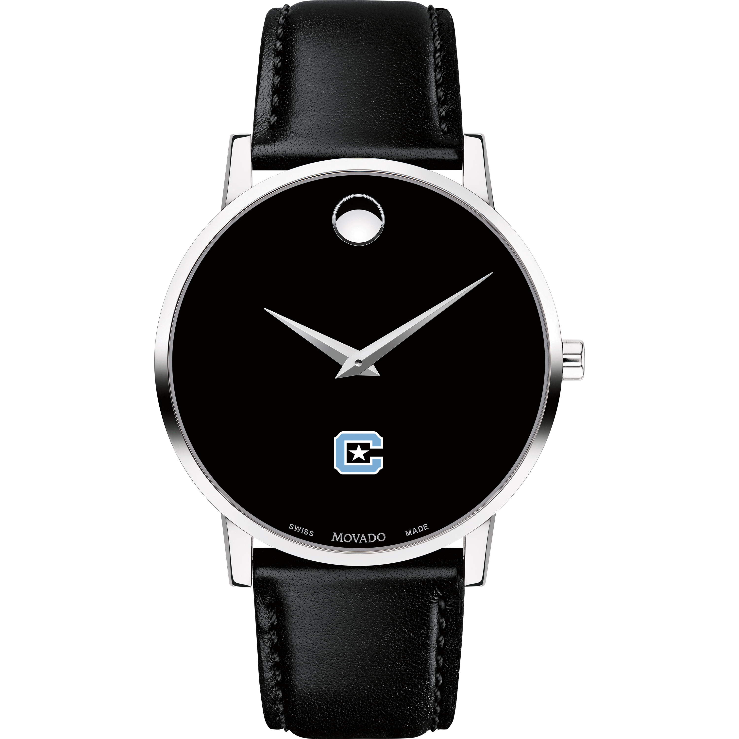Citadel Men's Movado Museum with Leather Strap - Image 2