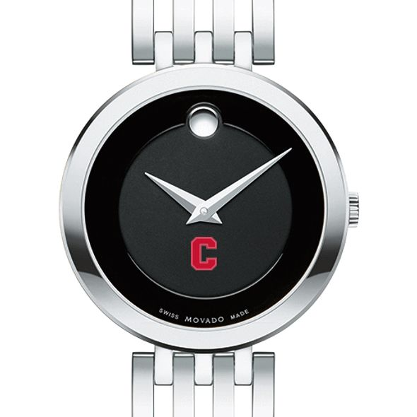 Cornell University Women's Movado Esparanza Stainless Steel Museum with Bracelet