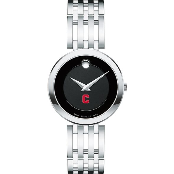 Cornell University Women's Movado Esparanza Stainless Steel Museum with Bracelet - Image 2