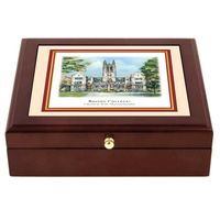 Boston College Eglomise Mini Desk Box